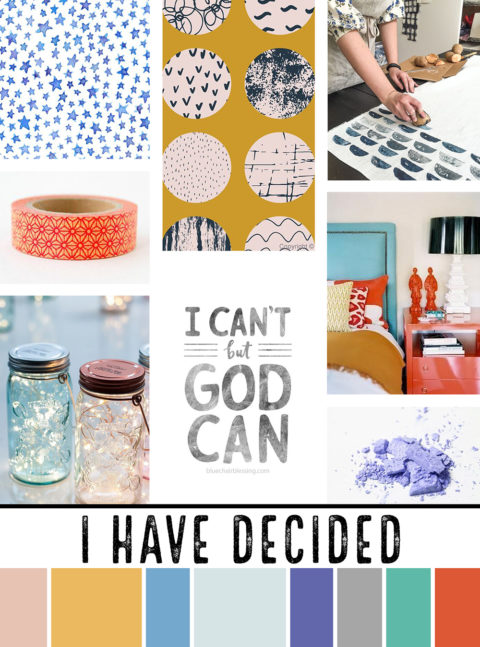 January Artist Mood Board & New Releases: I Have Decided