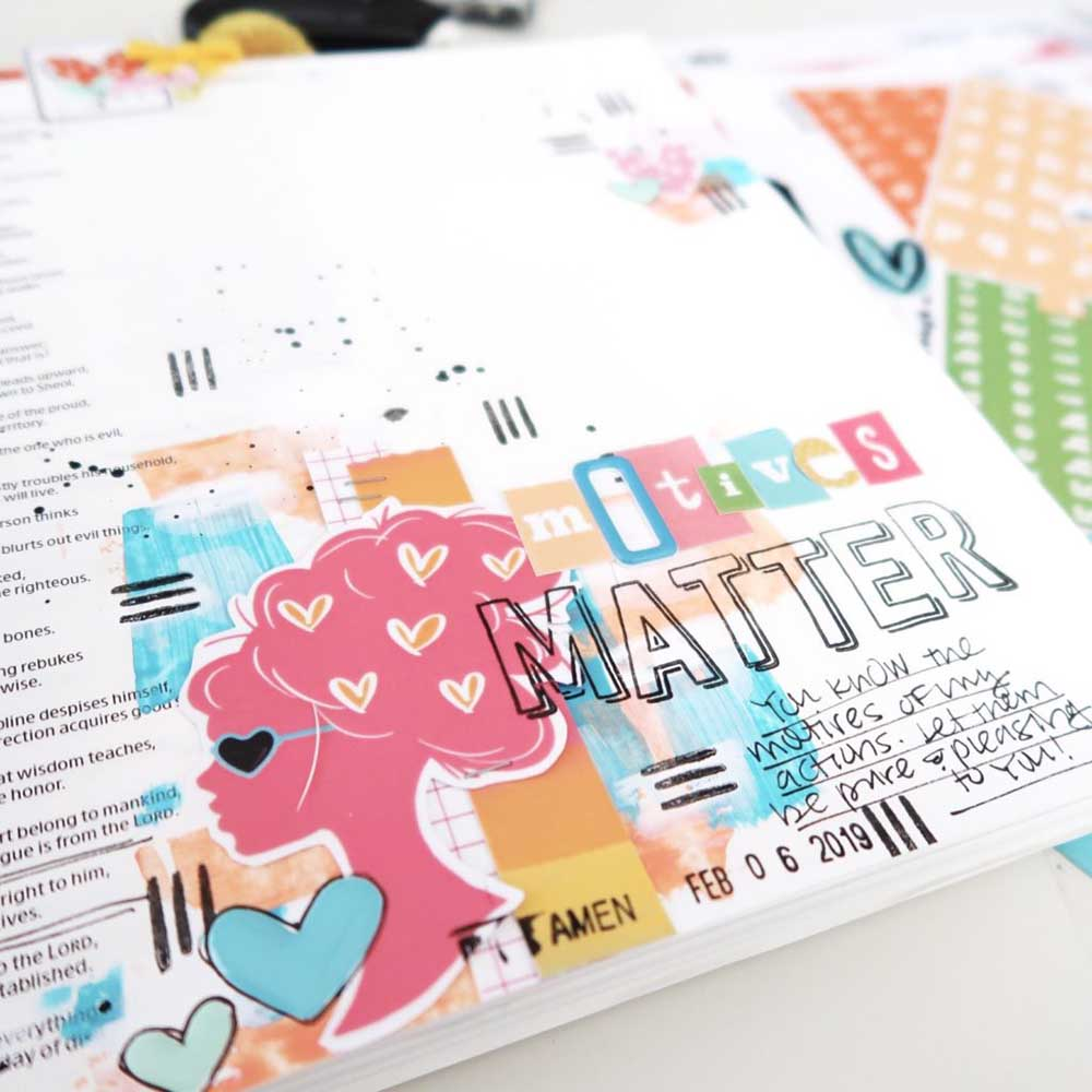 Jan & Feb Print & Pray Project Round-Up by Elaine Davis using digital printables