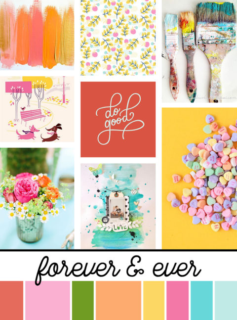 February Artist Mood Board & New Releases: Forever & Ever