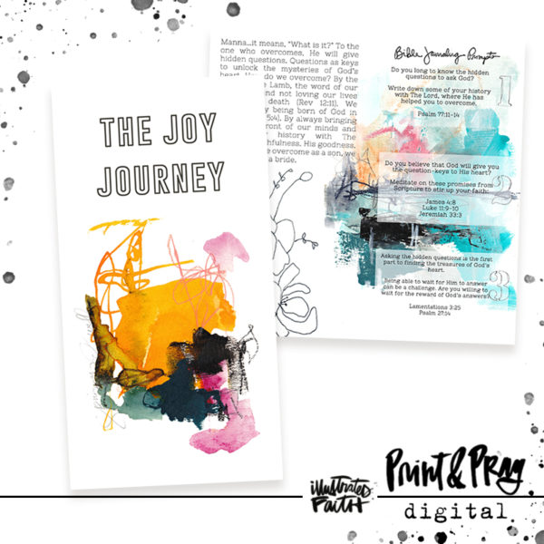 Illustrated Faith Joy Journey Devotional Digital