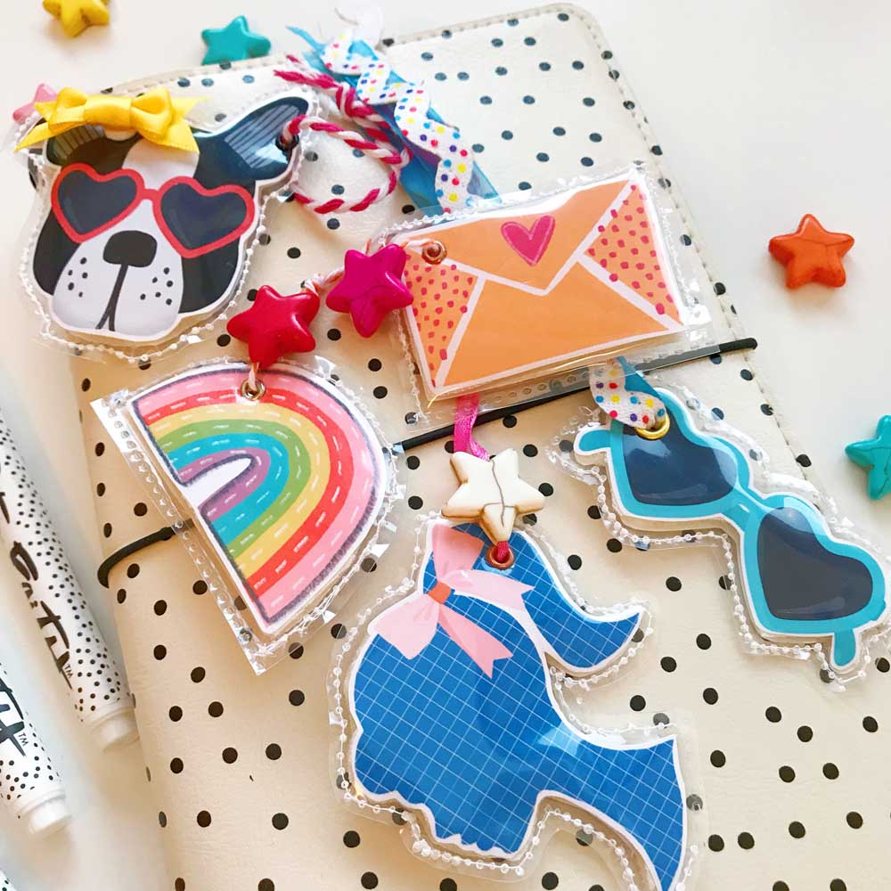 Print and Pray DIY Puffy Embellishments by Cristin Howell using digital printables