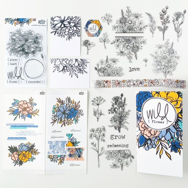 Illustrated Faith Wild [flower] Devotional Kit