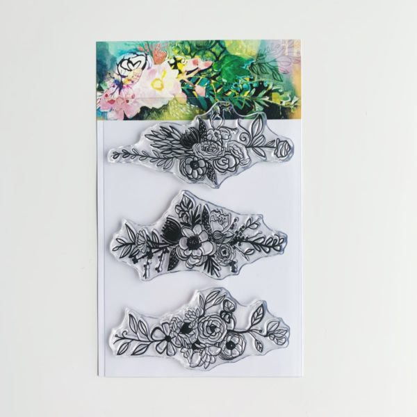 Illustrated Faith Wilna Florals Stamp