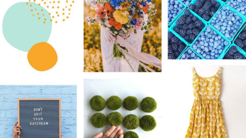 April Artist Mood Board & New Releases: Yipee Skippy!