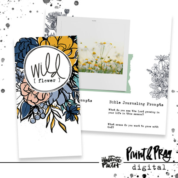 Illustrated Faith Wild [flower] DIGITAL Kit