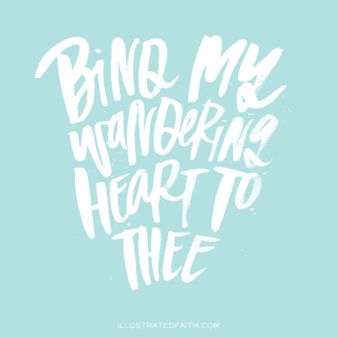 Sunday Inspiration from Come Thou Fount