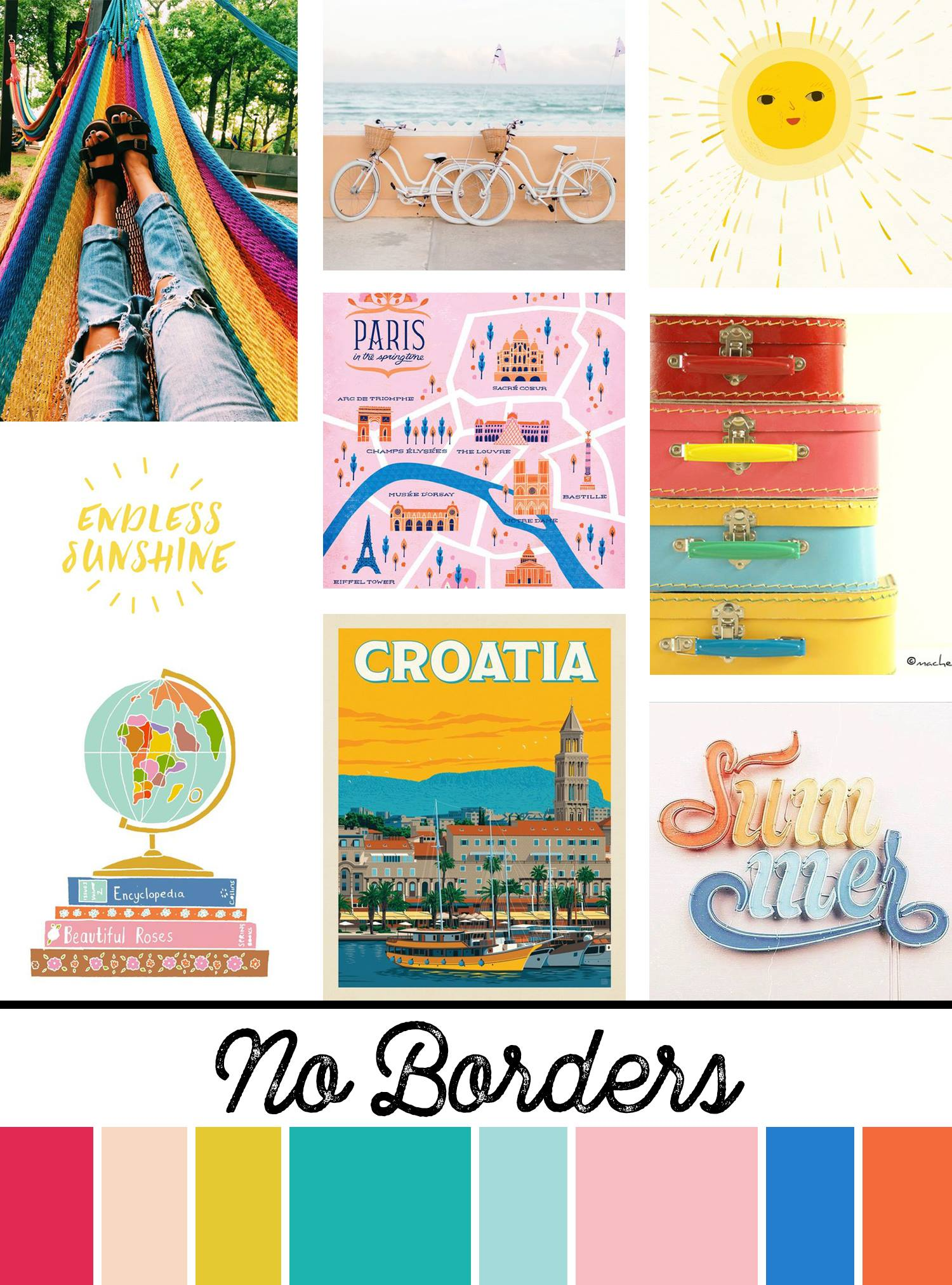 May 2019 Mood Board & New Releases: No Borders