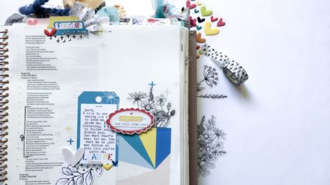 Print and Pray Hybrid Bible Journaling | Lead Me | Psalm 143