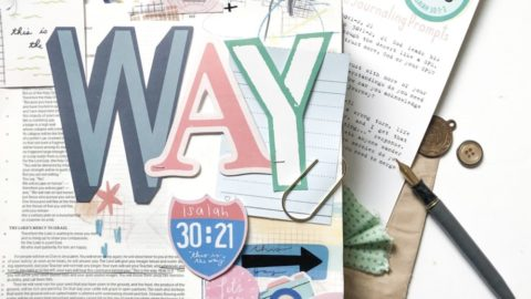 Print and Pray Bible Journaling | This is the Way | Isaiah 30:21