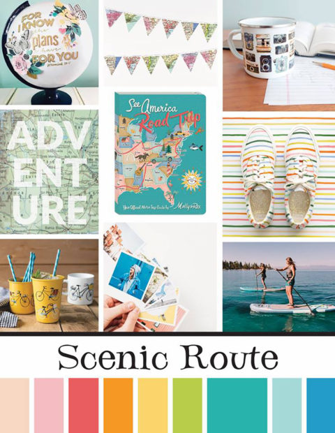 June Artist Mood Board & New Releases: Scenic Route