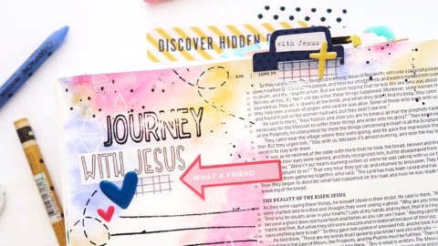 Bible Journaling Process Video | Revival Camp NT | Luke 24
