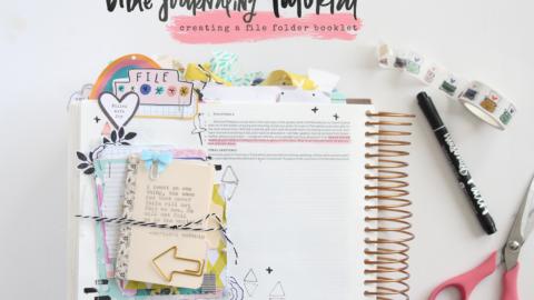 Bible Journaling Tutorial | A Book of Promises | Storyteller Devotional