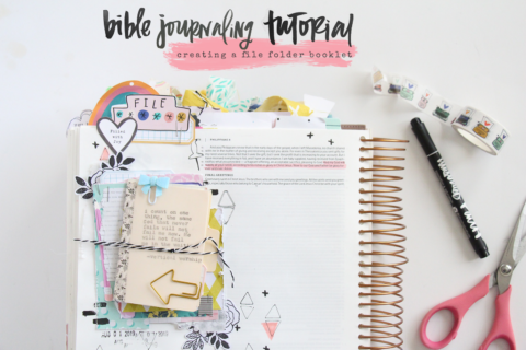 Bible Journaling Tutorial | A Book of Promises | Storyteller Devotional