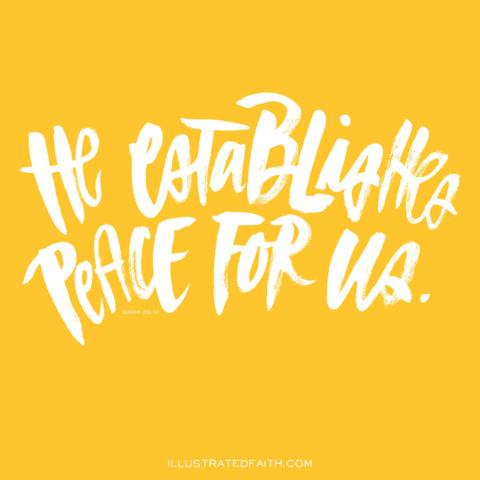 Sunday Inspiration from Isaiah 26:12